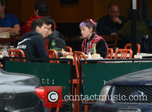 Lily Allen and Mark Ronson 3