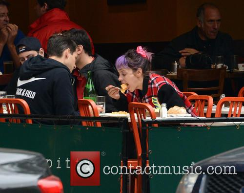 Lily Allen and Mark Ronson 5