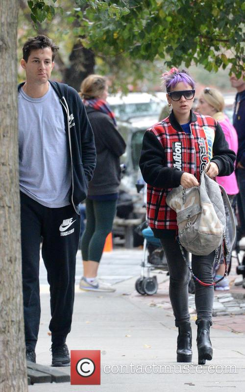 Lily Allen and Mark Ronson 6