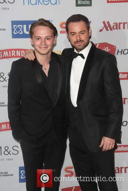 Sam Strike and Danny Dyer