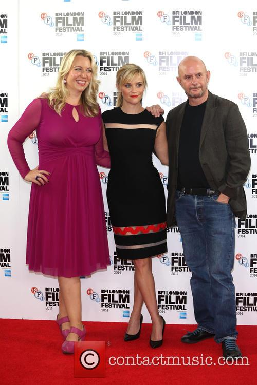 Reese Witherspoon, Cheryl Strayed and Nick Hornby