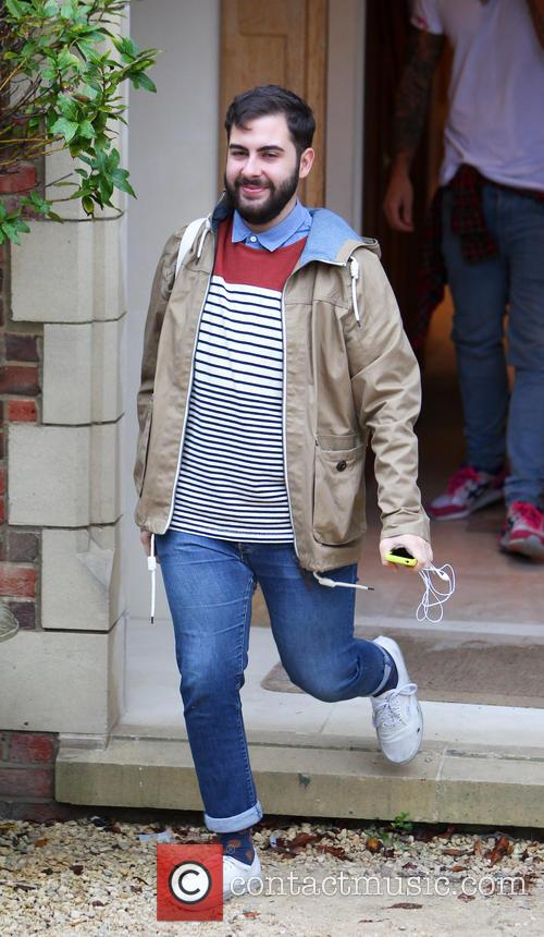 X Factor finalists leave the house for rehearsals