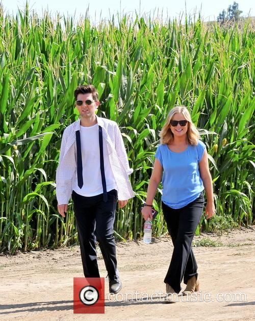Amy Poehler and Adam Scott 2