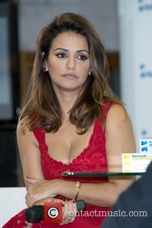 Monica Cruz attends the Halibut presentation