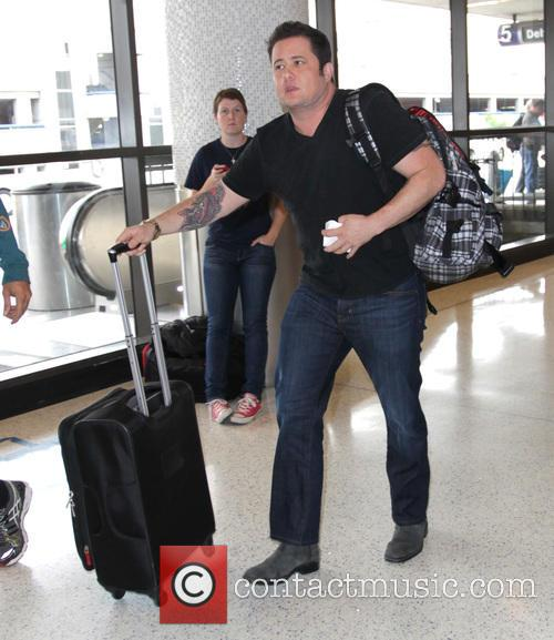 Chaz Bono arrives at Los Angeles International (LAX)...