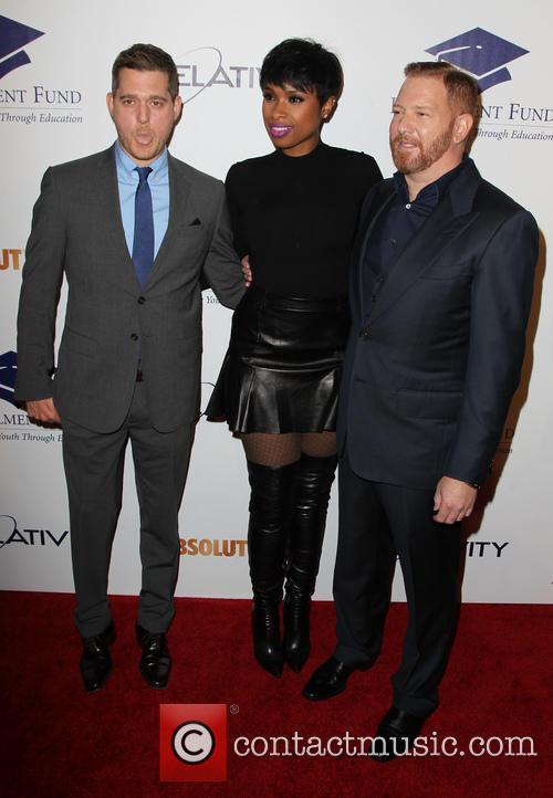 Michael Bublé, Jennifer Hudson and Ryan Kavanaugh
