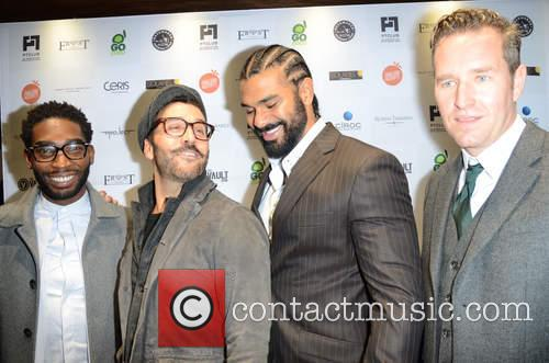 Tinie Tempah, Jeremy Piven, David Haye and Guest 6