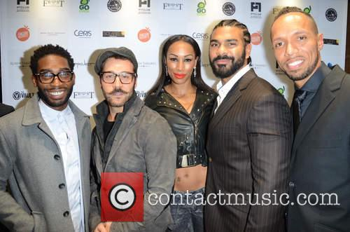 Tinie Tempah, Jeremy Piven, David Haye, Guest and Ruben Tabares 3