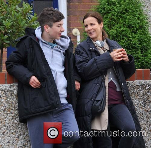 Barry Keoghan and Rachel Griffiths 1