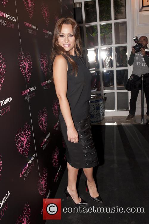 Spanish actress Natalia Verbeke presents the new 'PinkCow'...