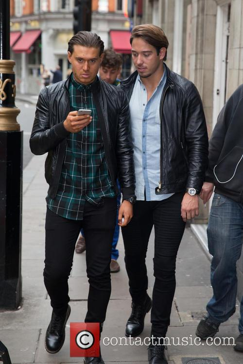 'The Only Way Is Essex' cast arrive to...