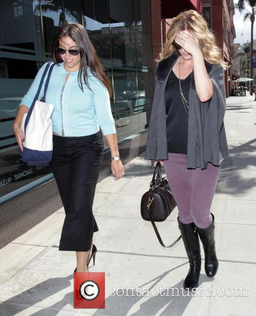 Rebecca Gayheart out with a friend in Beverly...
