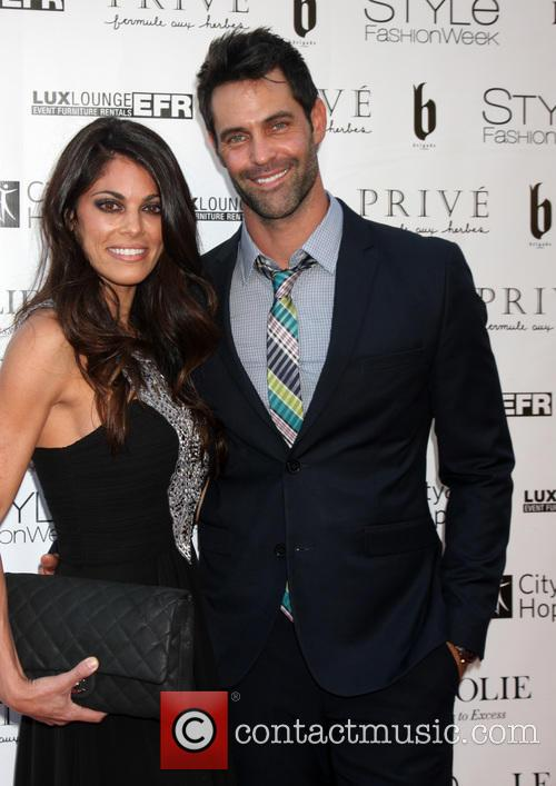 Lindsay Hartley and jason shane scott