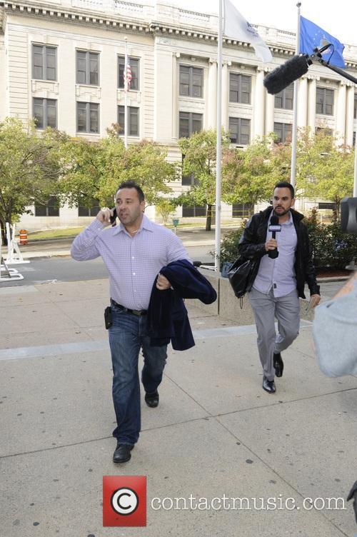 Joe Guidice entering Superior Court In Paterson New...