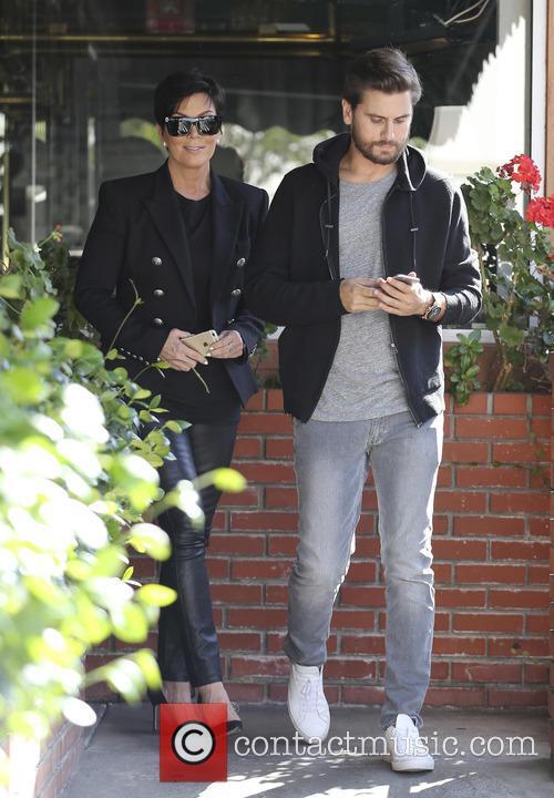 Scott Disick and Kris Jenner 2