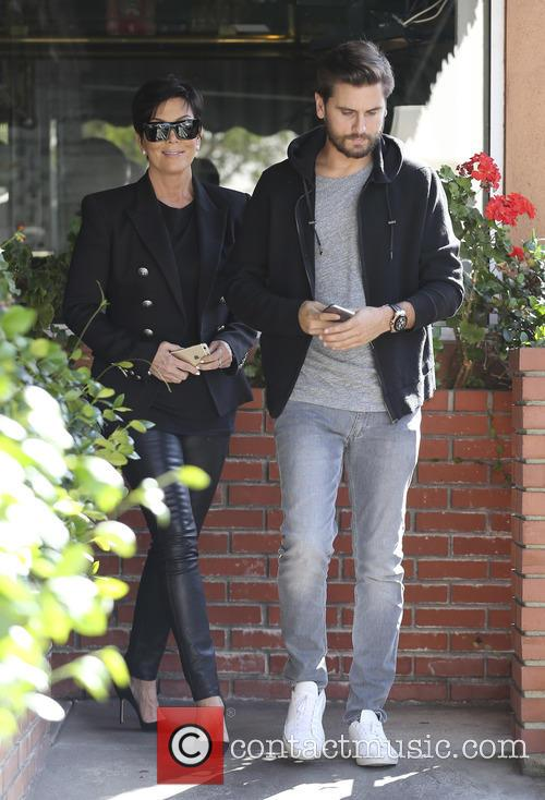Scott Disick and Kris Jenner 3