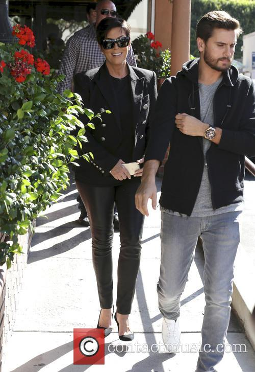 Scott Disick and Kris Jenner 4
