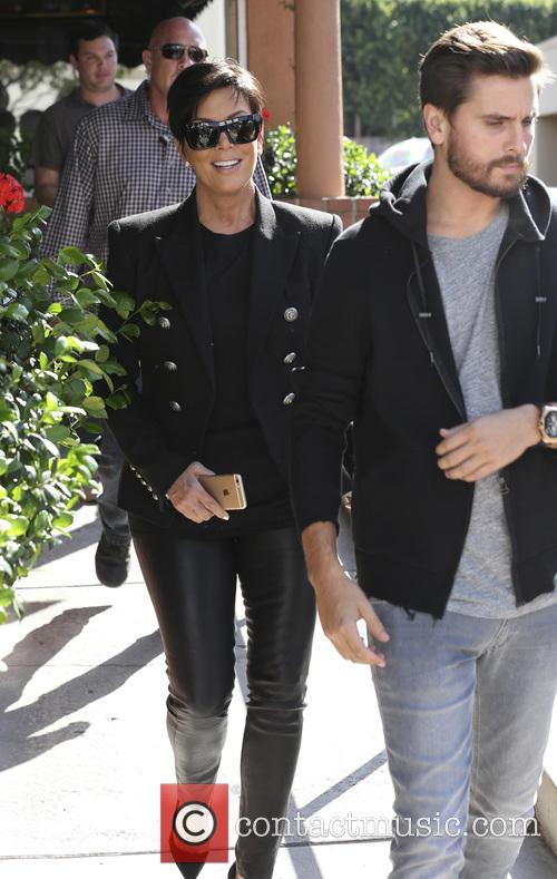 Scott Disick and Kris Jenner 5