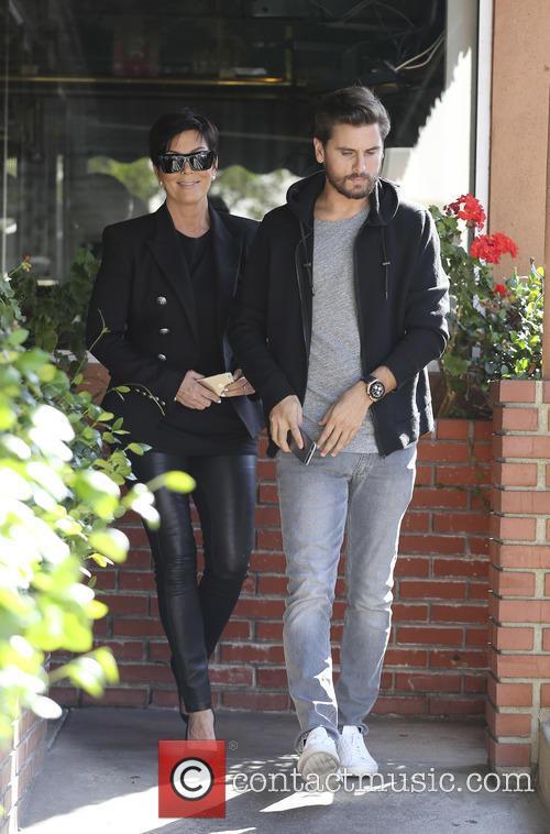 Scott Disick and Kris Jenner 6