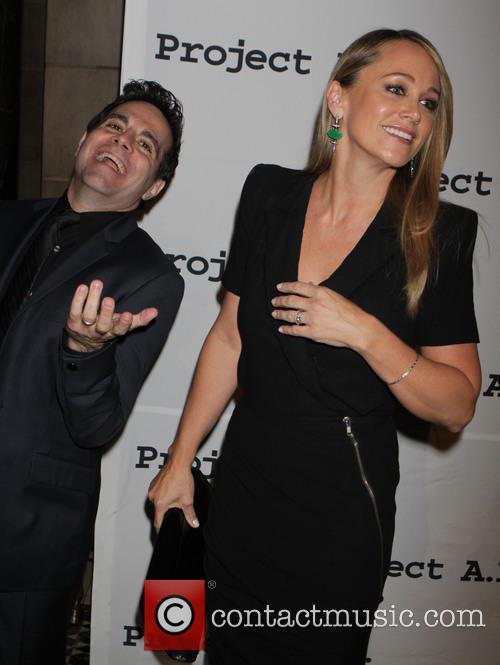 Mario Cantone and Christine Taylor 4