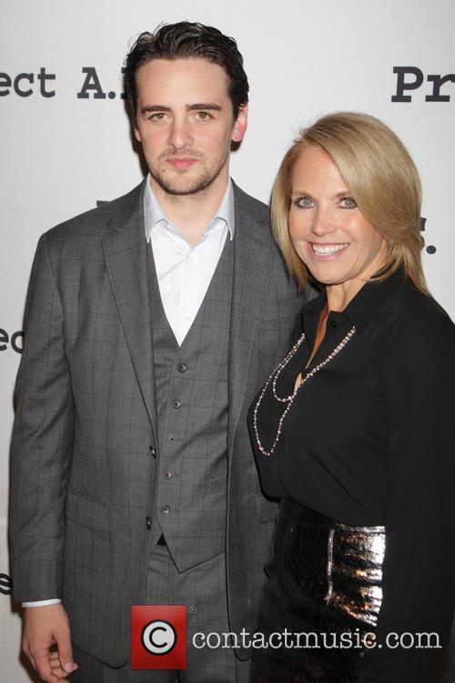 Mario Cantone and Katie Couric 3