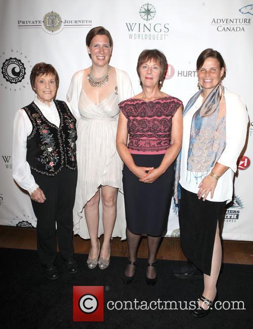Discovery, Helen Thayer, Felicity Aston, Arita Baaijens and Daphne Soares