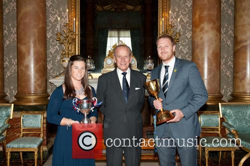 Prince Philip, Duke Of Edinburgh, Andrew Gale and Tamsin Beaumont 2