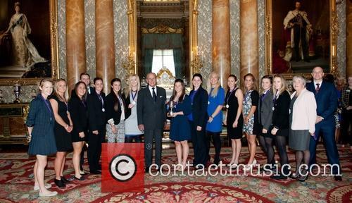 Prince Philip, Duke Of Edinburgh and Kent Women's County Cricket Team 3