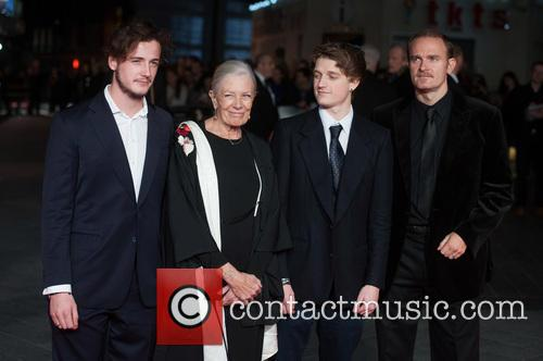 Vanessa Redgrave, Raphael Nero, Carlo Nero and Michael Neeson