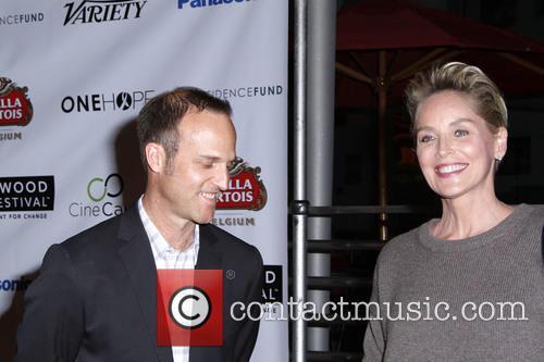 Jon Fitzgerald and Sharon Stone 2