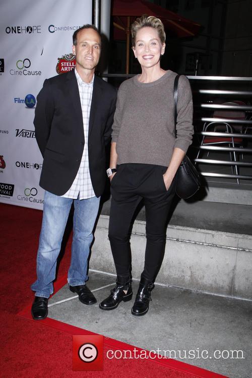 Jon Fitzgerald and Sharon Stone 3