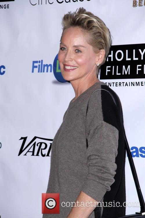 Sharon Stone at Hollywood Film Festival