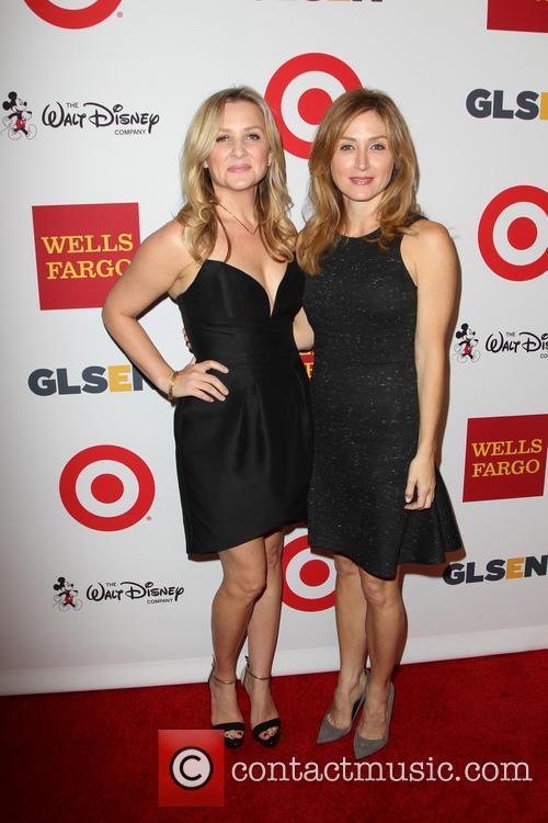 Jessica Capshaw and Sasha Alexander
