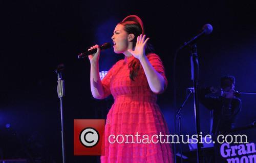 Dutch pop/jazz singer Caro Emerald performs at The...