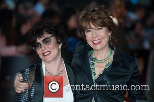 Ruby Wax and Kathy Lette
