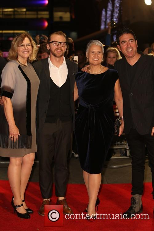 Laurence Malkin, Share Stallings, Tania Chambers and Simon Pegg