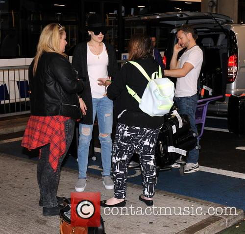 Jessie J arrives at London Heathrow Airport