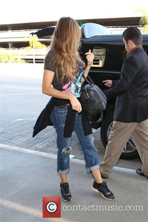 Sofia Vergara departs from Los Angeles International Airport...