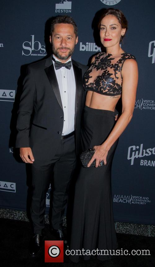 Diego Torres and Wife Debora Bello
