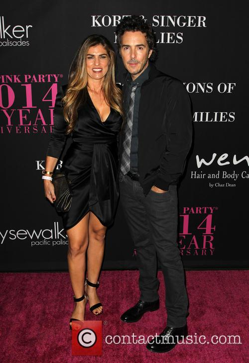 Serena Levy and Shawn Levy