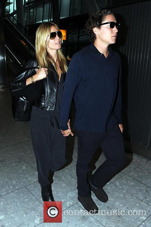 Heidi Klum and her boyfriend Vito Schnabel at...