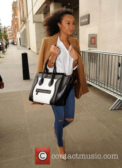 Little Mix arrive at BBC Radio 1 studios