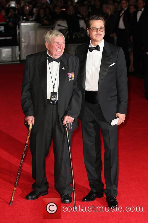 Brad Pitt and Peter Comfort 2