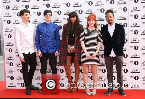 Dan Howell, Phil Lester, Jameela Jamil, Alice Levine and Devin Griffin