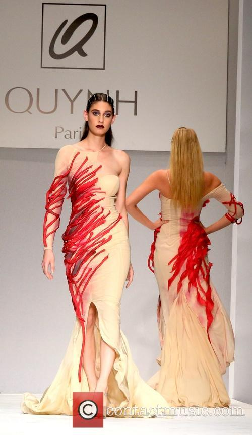 Models Style Fashion Week L A Spring Summer 2015 Quynh Paris Runway 11 Pictures