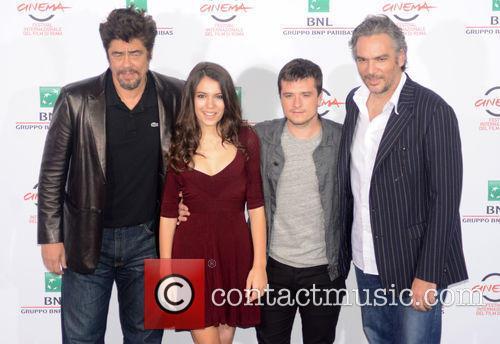 Benicio Del Toro, Claudia Traisac, Josh Hutcherson and Andrea Di Stefano