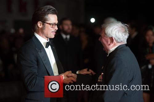 Brad Pitt and Peter Comfort 7