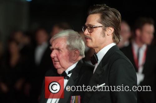 Brad Pitt and Peter Comfort 8