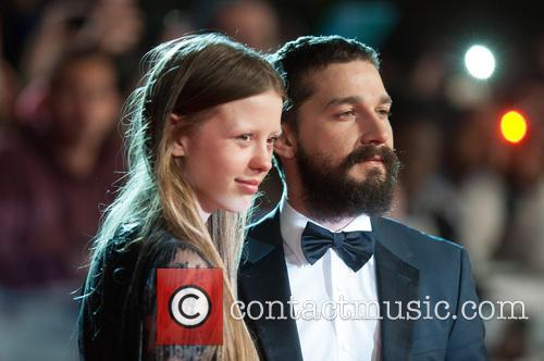 Shia Labeouf and Mia Goth