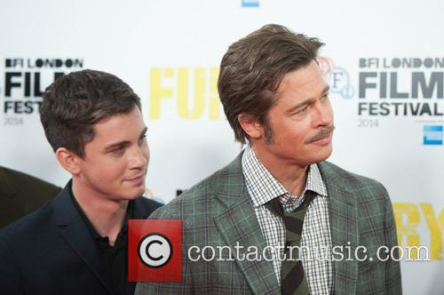 Brad Pitt and Logan Lerman 6